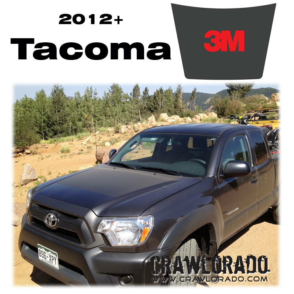 toyota tacoma hood blackout decal sticker 2012 2013 2014 2015