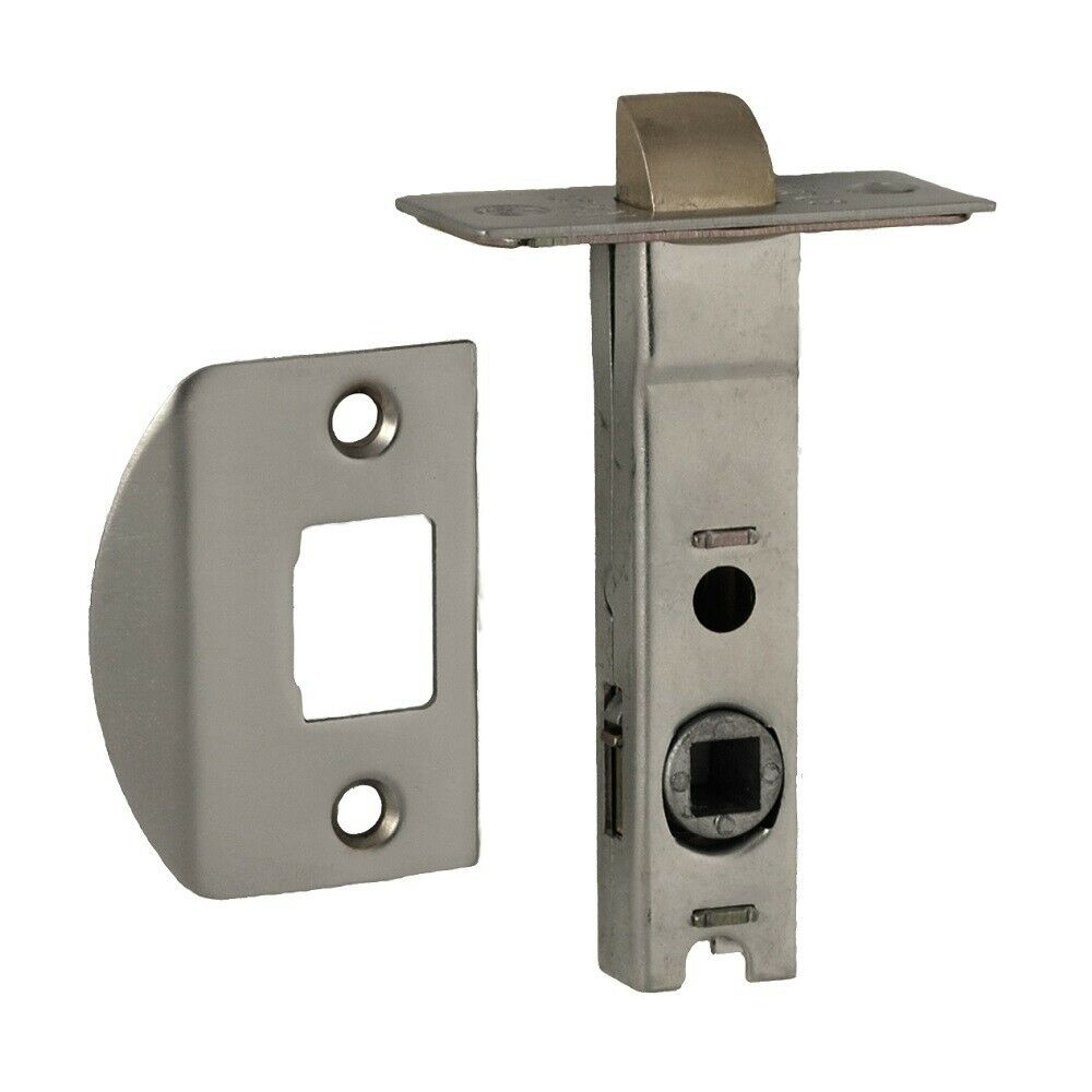 Nidus Tubular Latch Lattubrsc Satin Chrome 60mm Backset Ebay