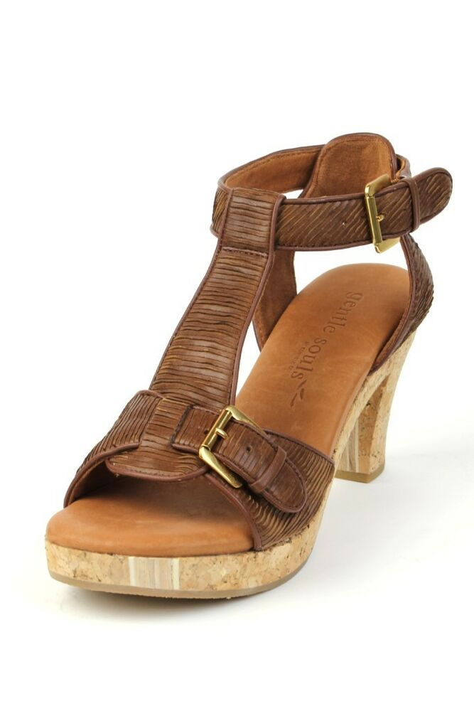 Women S Brown Buckle Shoes