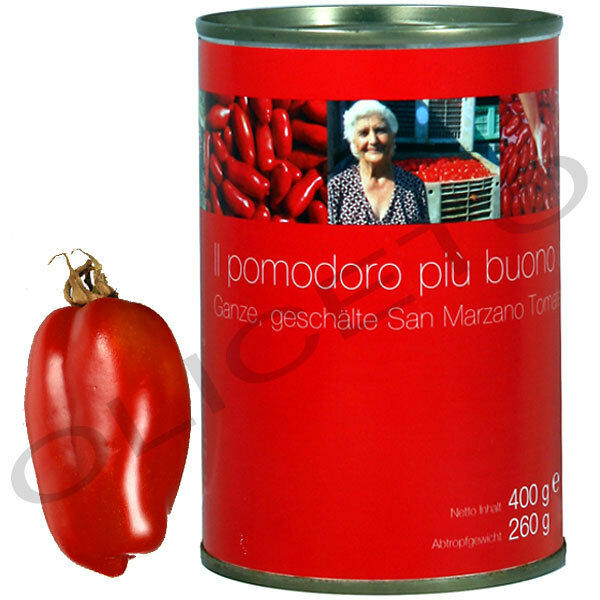 san marzano dosentomaten 400 260 g il pomodoro pi buono tomaten ebay. Black Bedroom Furniture Sets. Home Design Ideas