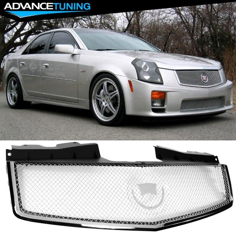 Cadillac Cts Sales: For: 03-07 Cadillac CTS CTS V Stainless Mesh Grill Grille Brand New