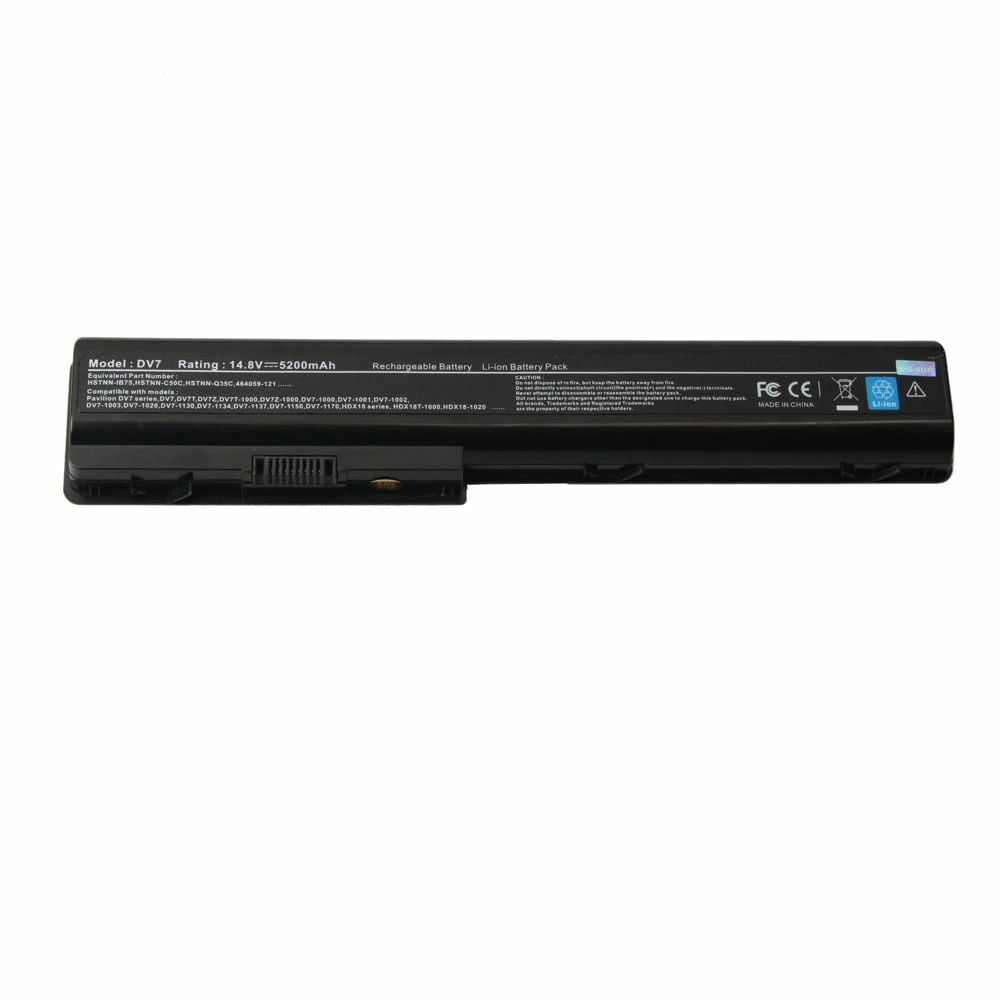 new laptop battery for hp pavilion dv7 1245dx dv7 1243cl dv7 1247cl dv7 1451nr ebay. Black Bedroom Furniture Sets. Home Design Ideas