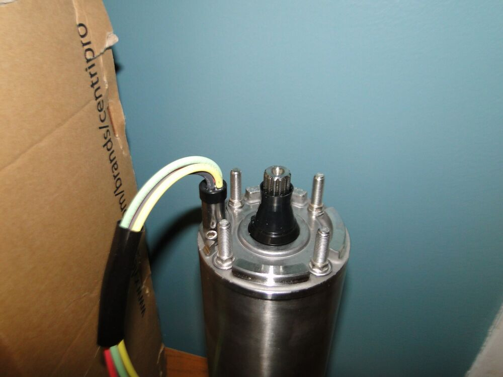 NEW GOULDS 1 HP 1 PHASE 4 quot CENTRIPRO SUBMERSIBLE PUMP