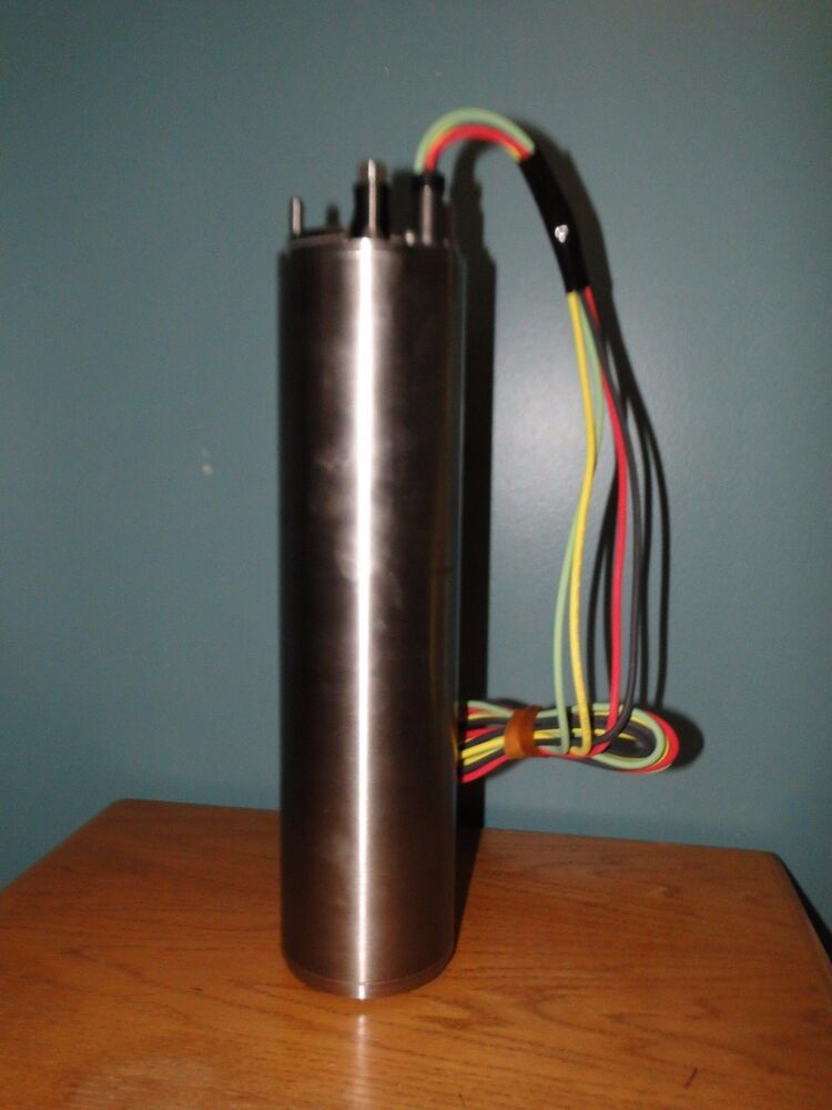 New Goulds 5 Hp 3 Wire 4 Centripro Submersible Pump Motor