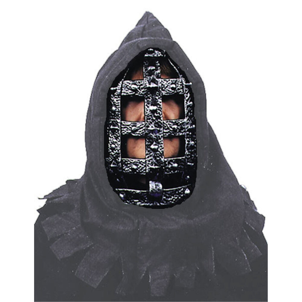 Medieval Gothic-HOODED EXECUTIONER IRON MASK-Steampunk