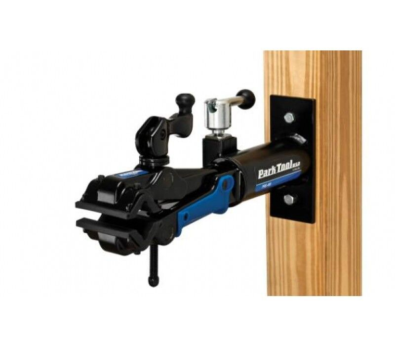 Single Park Tool PRS-4W-1 Deluxe Wall Mount Repair Stand and 100-3C Clamp
