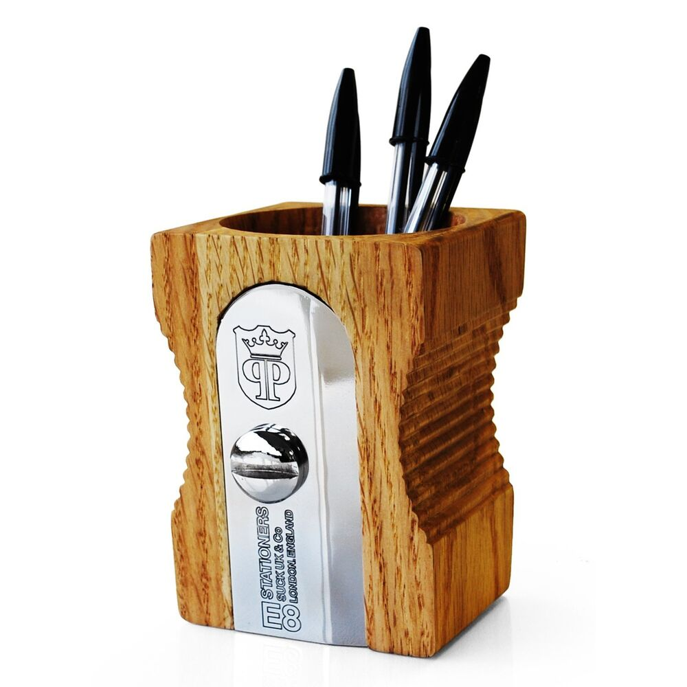 Desk tidy pen holder oversized pencil sharpener ebay - Sharpener desk tidy ...