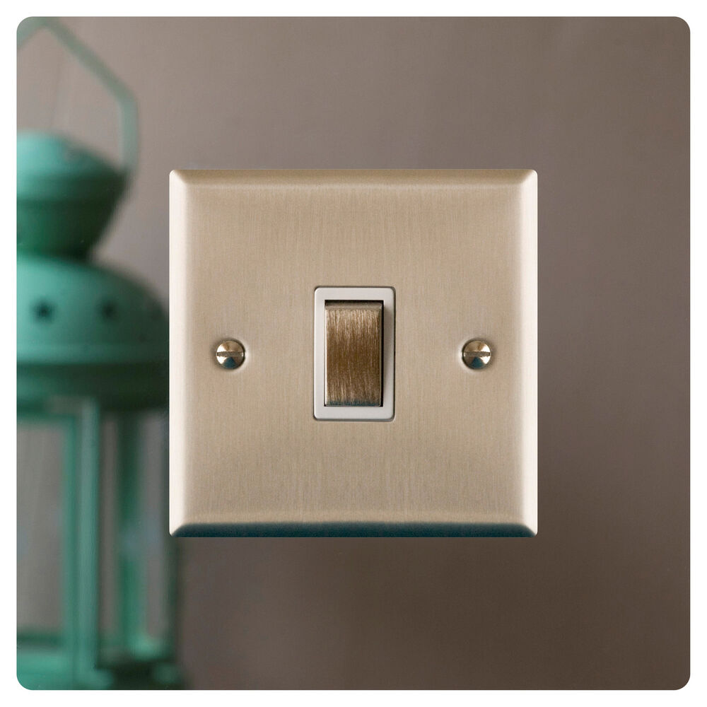 Mirror Light Switch Surround Finger Plate Plain Free Uk