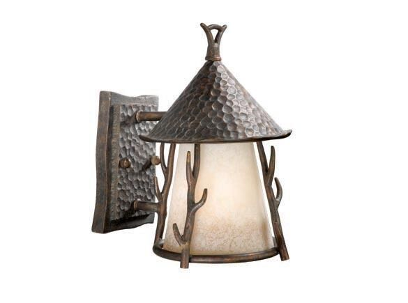 Woodland Vaxcel 7 Inch 1 Light Rustic Outdoor Wall Lighting Fixture WD-OWD070AA