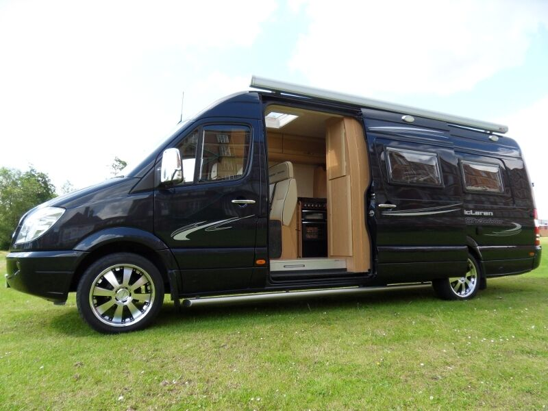 Mercedes sprinter vw crafter luxury motorhome conversion for Mercedes benz luxury rv