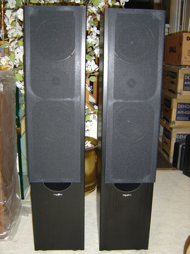 grundig fine arts fa3 230w ls speaker pair new other ebay. Black Bedroom Furniture Sets. Home Design Ideas