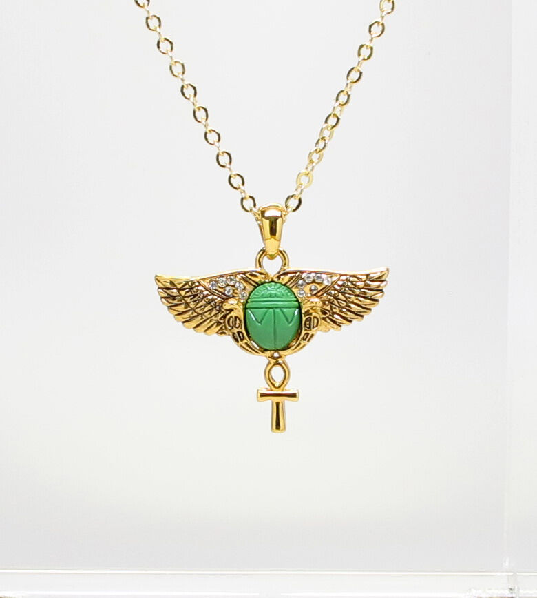 egyptian scarab necklace - photo #35