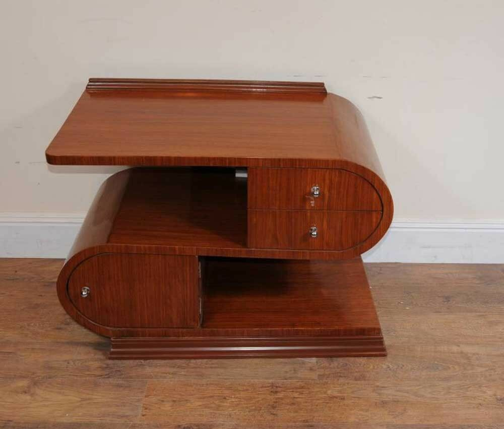 modernist art deco coffee table tables ebay. Black Bedroom Furniture Sets. Home Design Ideas