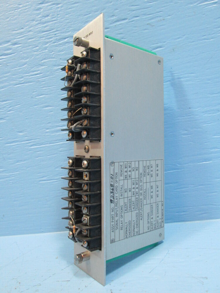 Bently Nevada 3 Wire Rtd Input Channel 82368