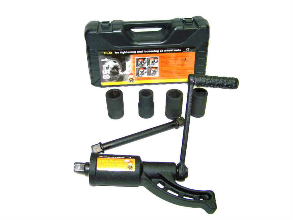 torque multiplier lug wrench replaces 1 air impact wrench with 4 sockets ebay. Black Bedroom Furniture Sets. Home Design Ideas