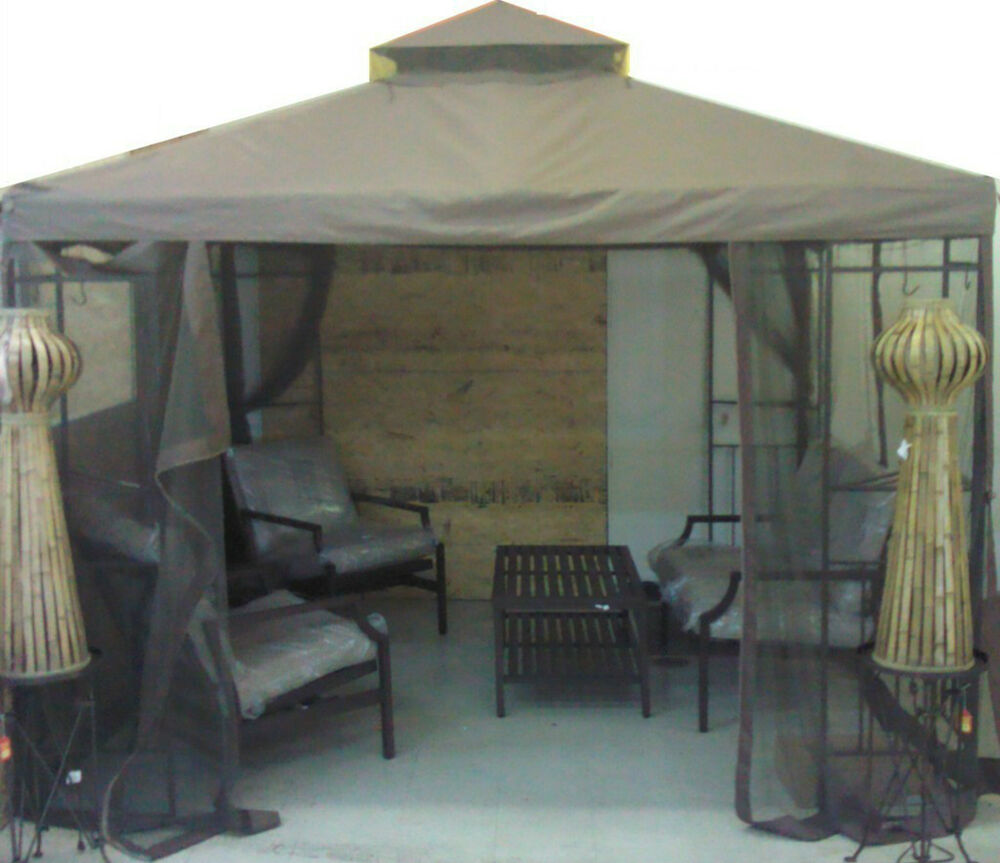 Portland 10x10 10 X 10 Gazebo Replacement Canopy With