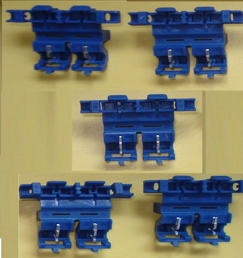 5 Inline Blue Heavy Duty Blade Fuse Holders Taxi Meter Radio Car Hgv 20 Amp