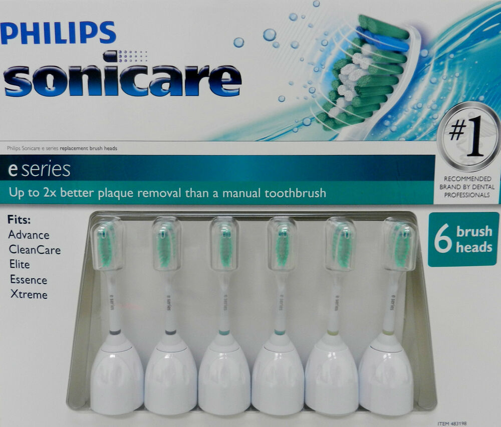 Philips Sonicare...E Series Sonic Toothbrush Heads