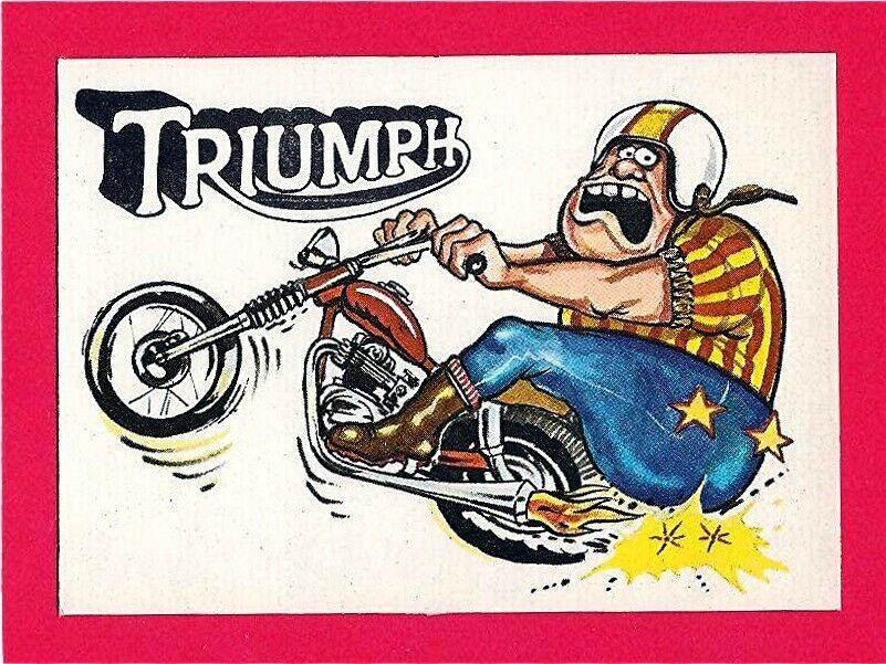 old rod trading cards