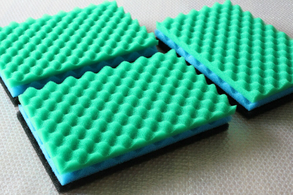 Pack of 3 sets generic fish pond foam filter sponge set 17 for Pond filter sponges