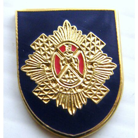 img-THE ROYAL SCOTS BADGE MILITARY ARMY LAPEL PIN FREE GIFT POUCH MOD APPROVED