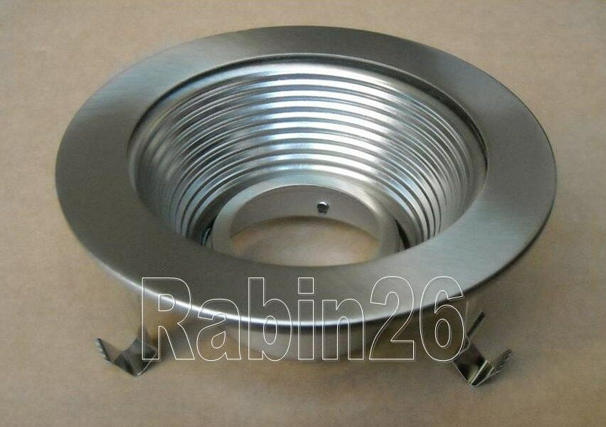 4 Quot Inch Recessed Light Can Trim Baffle Mr16 12v Steel