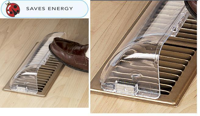 Furnace Vent Deflector Easy To Use Warm Or Cool Air