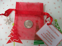 Baby's First Christmas Gift - Lucky Sixpence - 1st Stocking Filler