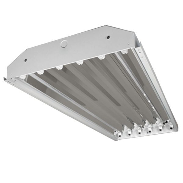 6 Lamp T8 High Bay Fluorescent Light Fixture Warehouse