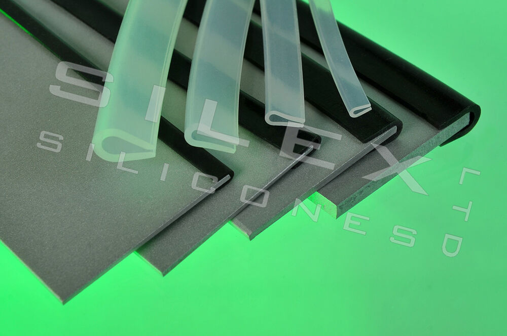 Silicone Rubber Edging Strip U Channel Edge Protection 3