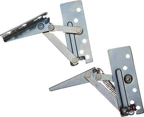 Lift Door Cabinet Hardware : Kitchen cabinet lift up flap hinges sprung top boxes