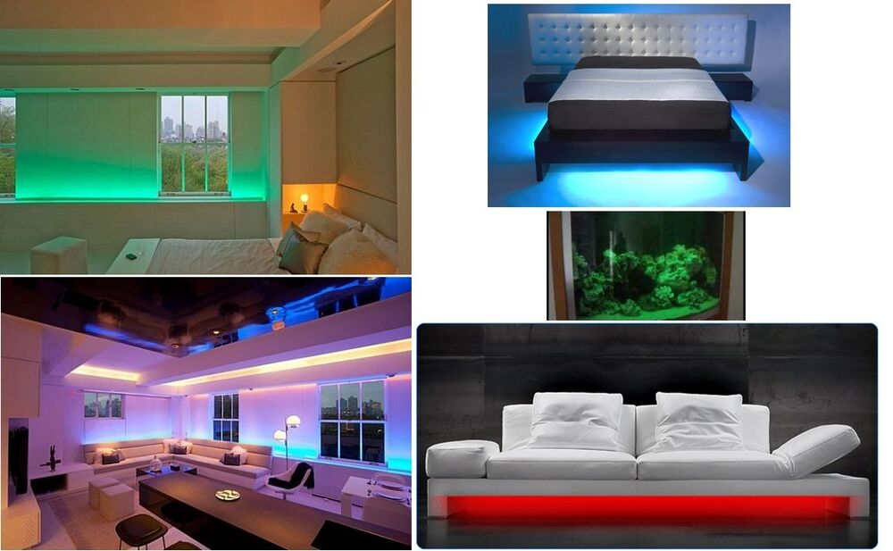 cord strip light 300 3528 led waterproof flexible diy