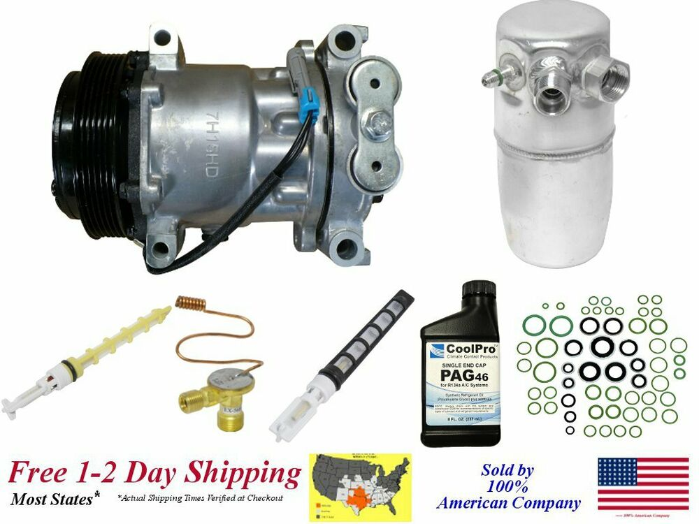 New A  C Compressor Kit For  1996 1997 1998 1999 Chevrolet