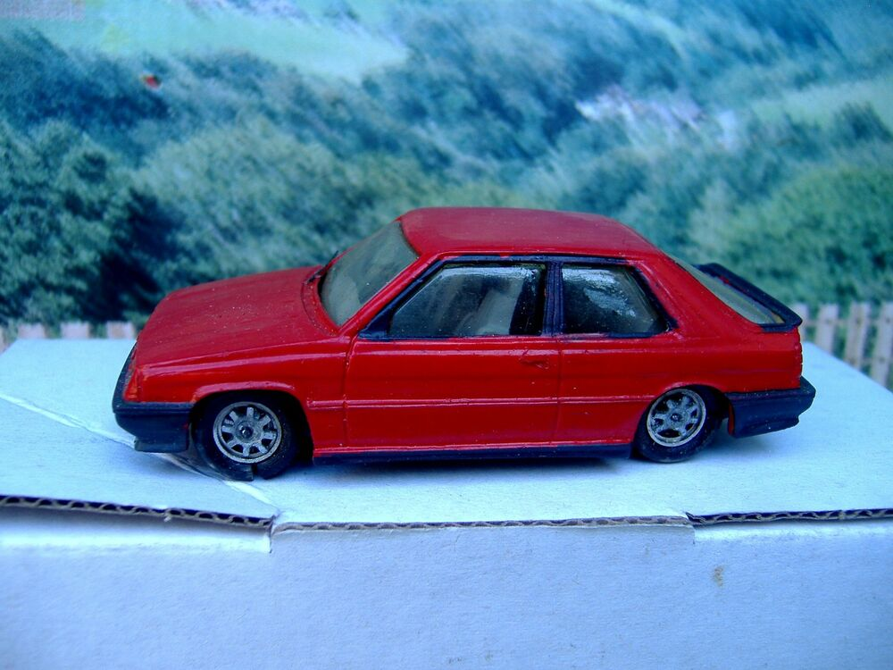 1 43 automany france renault 11 turbo 1987 handmade resin model car ebay. Black Bedroom Furniture Sets. Home Design Ideas