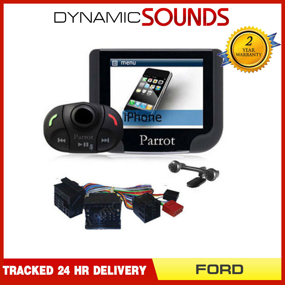 Ford Transit, Connect Parrot MKi9200 Bluetooth Handsfree Car Kit with SOT Lead | eBay