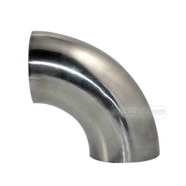 φ od mm sanitary weld elbow pipe fitting degree