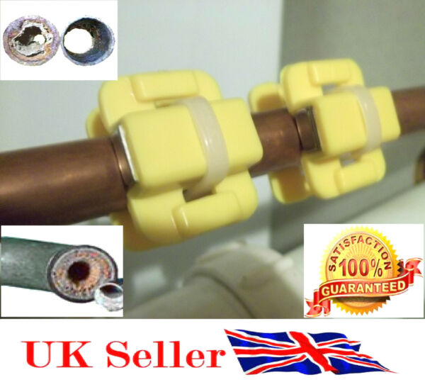HIGH QUALITY Magnetic Water SOFTENER Conditioner x 2 PAIR