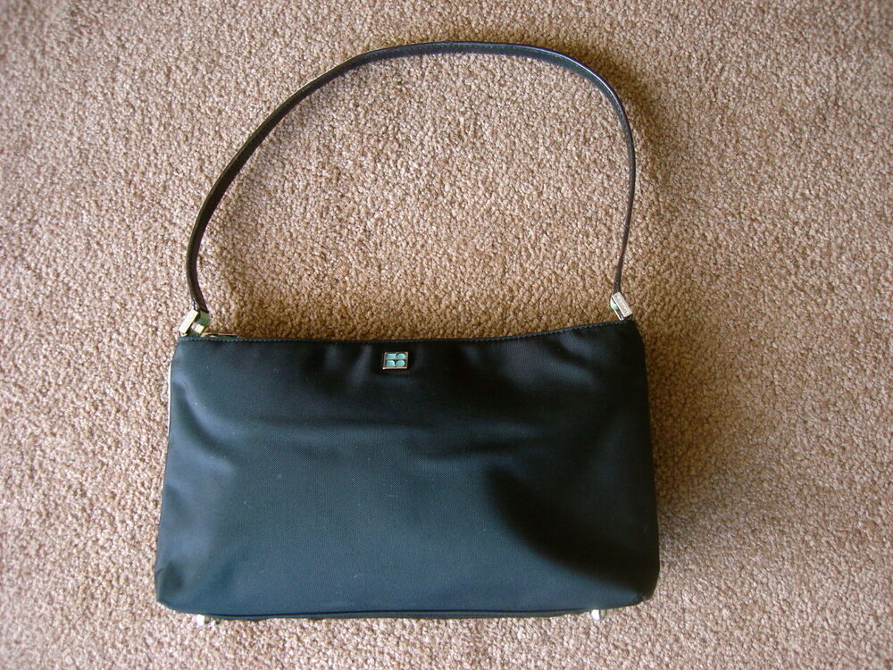 c03908a66464 Kate Spade Black Purse Nylon | Stanford Center for Opportunity ...