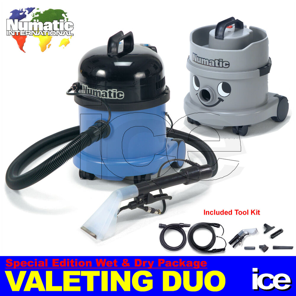 Car Interior Seat Carpet Upholstery Valeting Wet Dry Vacuum