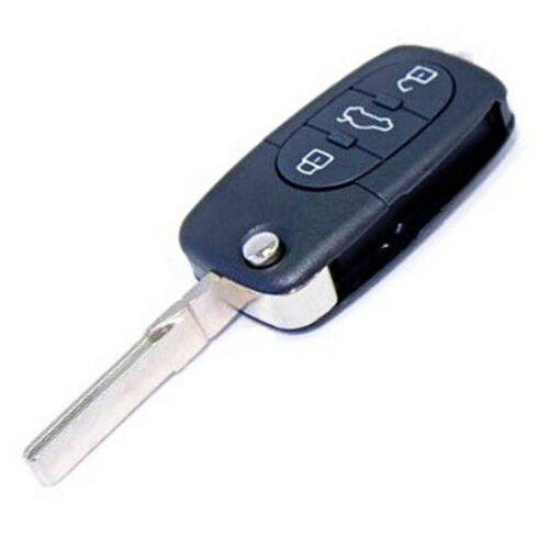 HQRP Flip Key FOB Shell Remote Case For Audi TT 2000 2001