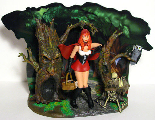 Grimm Fairy Tales Little Red Riding Hood NAUGHTY Little ...