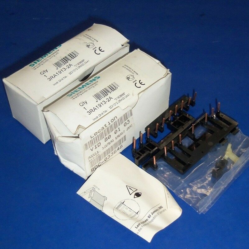 siemens reversing switch wiring unit 3ra1913 2a ebay. Black Bedroom Furniture Sets. Home Design Ideas