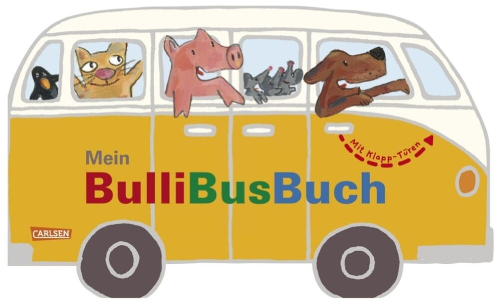 vw bus mein bulli bus buch bullibusbuch kinderbuch. Black Bedroom Furniture Sets. Home Design Ideas
