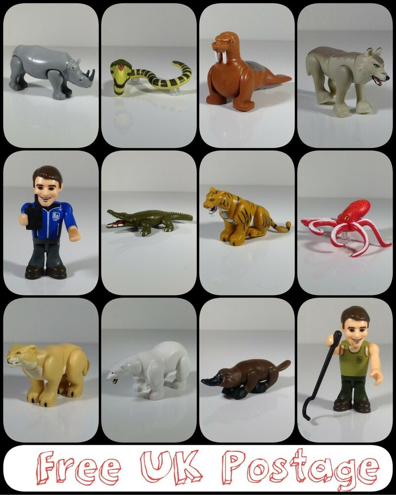 Character Building Deadly 60 Micro Figures Selection