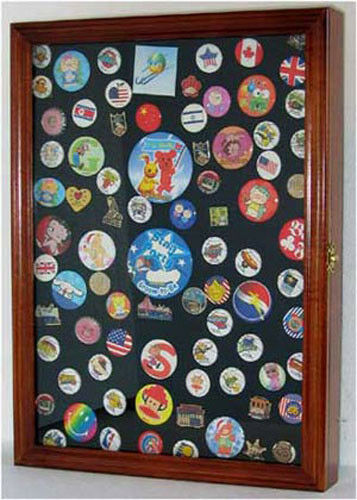 Display Case Wall Shadow Box For Campaign Amp Lapel Pins