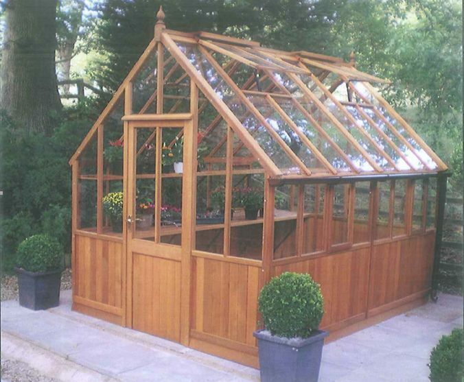 Top Quality Victorian Cedar Greenhouse Ten Sizes Free