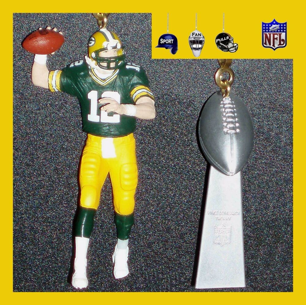 Nfl Green Bay Packers Rodgers Amp Trophy Or Super Bowl