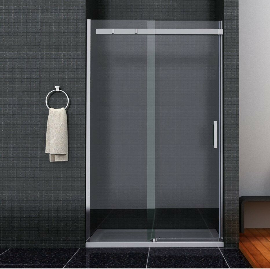 1400 x 760 frameless sliding door shower enclosure screen for 1400 shower door