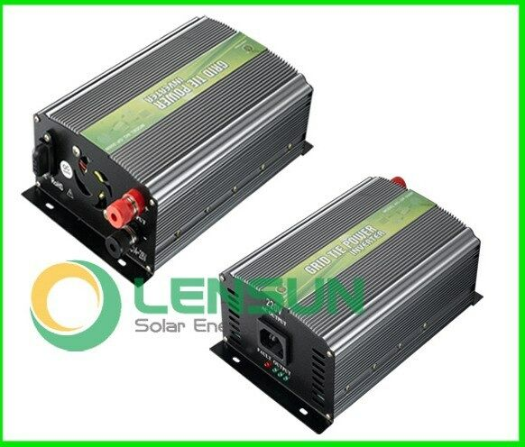 350w 500w solar generator grid tie inverter f r 12v 24v solar module 190 260v ac ebay. Black Bedroom Furniture Sets. Home Design Ideas