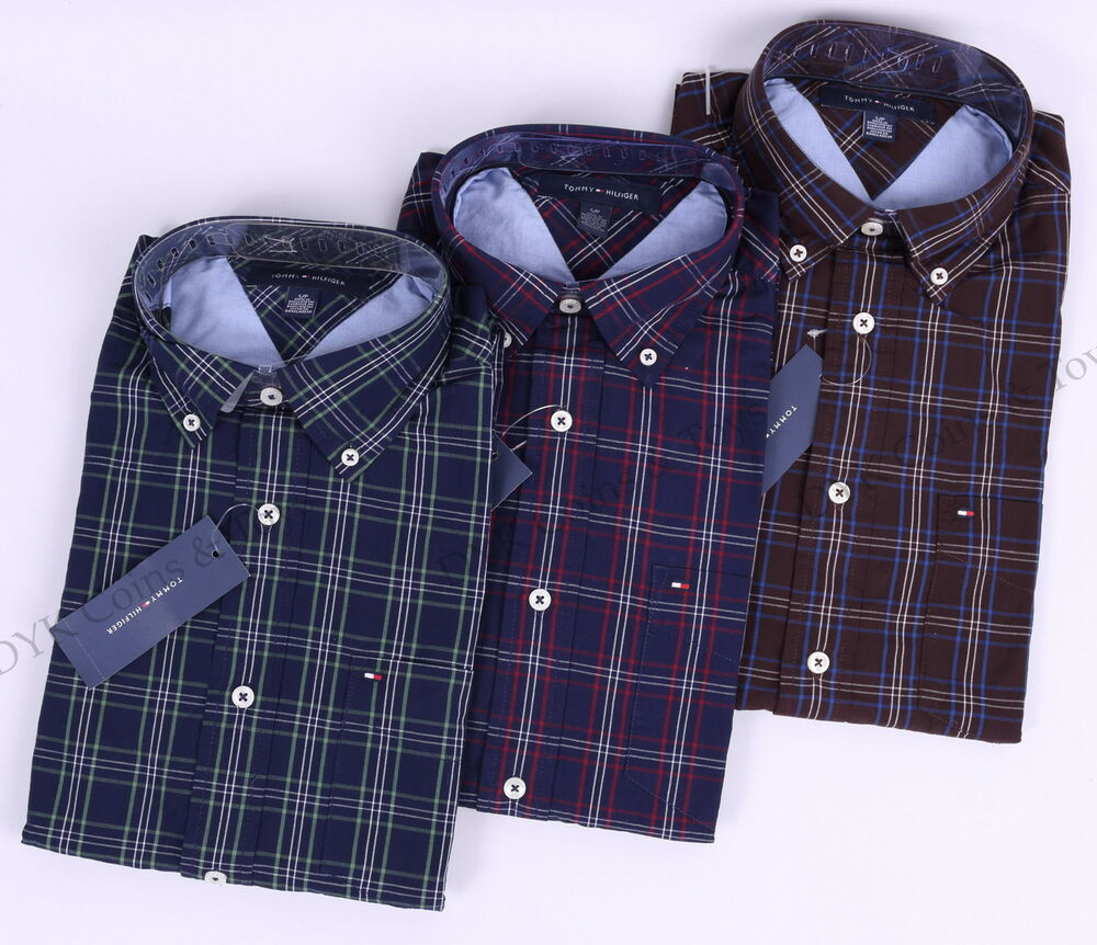 Tommy Hilfiger Men Long Sleeve Classic Fit Button Down